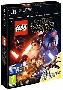 LEGO Star Wars: The Force Awakens Special Edition [PS3] WITH X WING NEW SEALED