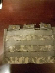 US Military Molle Triple Mag Pouch ACU Digital