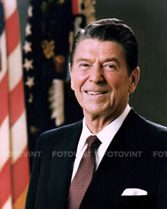RONALD REAGAN Photo PRESIDENT Picture White House Oval Office Print 11x14 (#1)