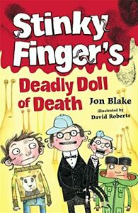 Stinky Finger#x27;s Deadly Doll of Death by Blake Jon Paperback Book The Fast Free