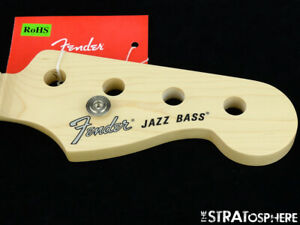 2019 Fender American Performer Jazz Bass NECK Guitar Parts C Shape Maple
