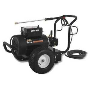 MI-T-M GC-2503-0ME1 Medium Duty 2500 psi 3.2 gpm Cold Water Electric Pressure