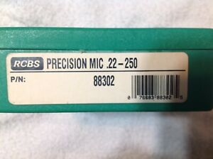 22-250 Precision Mic Headspace, Bullet Depth RCBS 88302