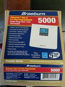 Braeburn thermostat Universal 7 day or 5 2 day Programmable $55.00