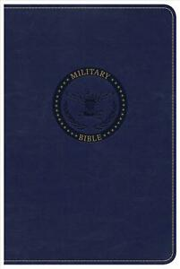 CSB Military Bible, Royal Blue Leathertouch by Csb Bibles by Holman (English) Im