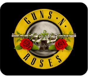 Guns N Roses GNR Bullet Logo Classic Rock Music Computer Mouse Pad 121611MP00