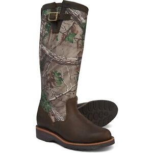 """Chippewa 15"""" Kingsley Women's Snake Boots Motorcycle Hunting Western Riding $269"""