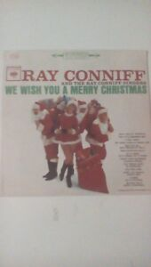 Ray Conniff We Wish You A Merry Christmas 1962 vinyl lp Columbia Records