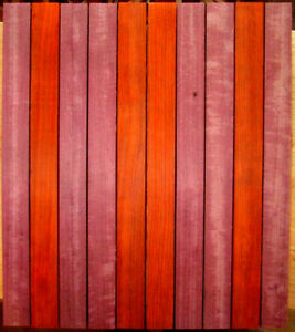 ASSEMBLY READY CUTTING BOARD KITS S4S PADAUK & PURPLEHEART 18
