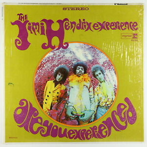 Jimi Hendrix Experience - Are You Experienced? LP - Reprise 2-Tone VG+ Shrink