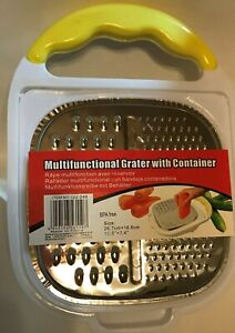 Multifunctional Grater with Container, 10.5