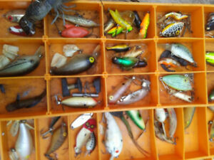 Lot Of 72 Vintage Fishing Lures All brands.Rapala Hiddonetc Buy all for$319