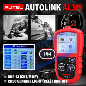 Auto OBD2 Scanner Code Reader Clear /Reset DTCs ABS SRS Airbag Diagnostic Tool