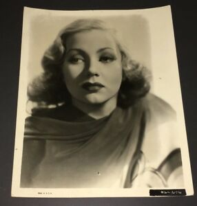 1930's ANN SOUTHERN PORTRAIT 8x10 ORIGINAL STILL GOOD OR BETTER