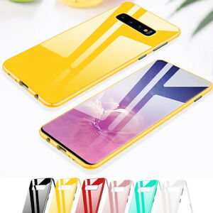 Magnetic Phone Case with Screen Protector For Samsung Galaxy S10 S9 S8 +Plus S7