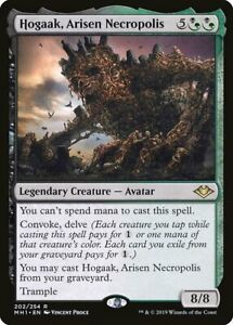 4 Hogaak, Arisen Necropolis - Gold Modern Horizons Mtg Magic Rare 4x x4