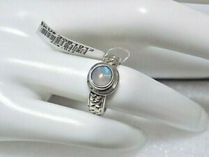Bali Legacy Collection Ethiopian Welo Opal Sterling Silver Ring