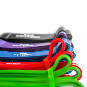 Resistance Bands With Exercise Guide - Unique Fitness Concepts