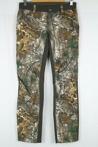 New Under Armour Women's Early Season Field Hunting Pants 8 Realtree Ap-Xtra 947