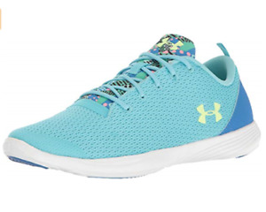 Under Armour UA Street Precision Girls Athletic Running Lace Shoes 1293114-448