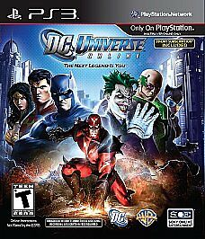 DC Universe Online Hero Edition PLAYSTATION 3 PS3 Action Adventure Video