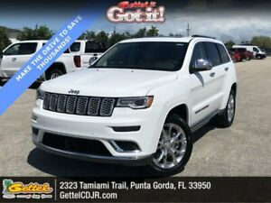 2020 Jeep Grand Cherokee Summit ummit Bright White Clearcoat Sport Utility Regular Unleaded V-8 5.7 L345 Autom