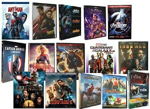 Marvel DVD You Pick Avengers Captain America Thor Iron Man Guardians Ant Man