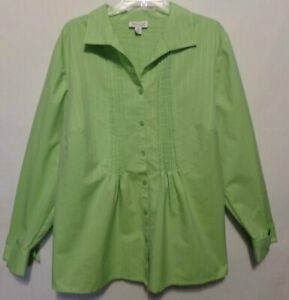 Womens COLDWATER CREEK Size 2X Top Shirt Blouse NWOT NEW