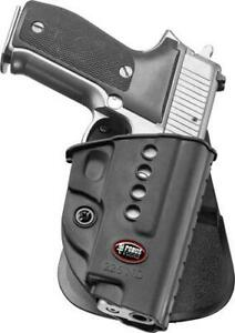 Fobus Holster E2 Paddle For - Sig P220-p226-p227 W-rail P245