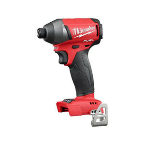 Milwaukee 2753-20 M18 Fuel Quiet 18V 1/4 Brushless Impact Driver Bare Tool