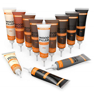Floor and Furniture Repair Kit Cover Wood Scratch Touch Up Restorer Wooden Table