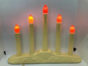Noma Vintage 5 Light Lite Candolier Candelabra Christmas Drip Candle with Box