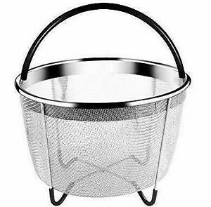 High-Quality KitchenHYPE Steamer Basket 6 Quart for Instant Pot Accessories