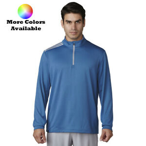 Adidas Golf 3-Stripes Classic 14 Zip Pullover - Pick Color & Size