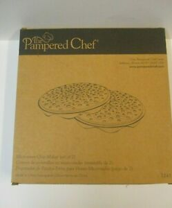 The Pampered Chef Microwave Potato Chip Maker - sealed new in box