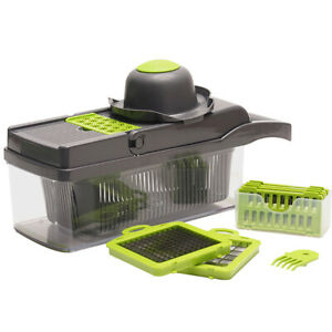Mandoline Slicer 7 in 1 Vegetable Slicer Fruit Cutter Potato Peeler Grater Dicer