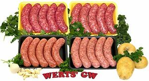 10 lb. Sausage Sampler-Italian/Polish/Swedish/Potato Sausages-Bratwurst-Nebraska