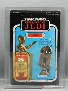 AFA 70 Vintage Kenner Star Wars sensorscope R2-D2 action figure MOC toy 77 back