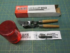 RELOADING TOOLS * DOUBLE BULLET MOLD & SIZING * LEE * 452 * 200 GR