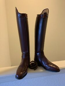 Konig Women's Dressage Boots USA Size 7.5 Good Condition German leather