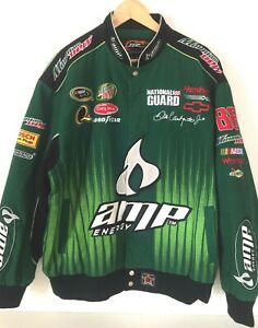 Vintage Dale Earnhardt Jr Amp Energy Racing Jacket Size X Large Nascar