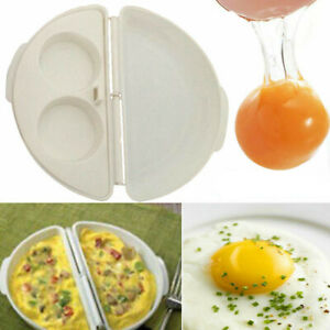 Easy Microwave Egg Cooker Omelet Pan Healthy Breakfast Cooking Non-Stick BPA US