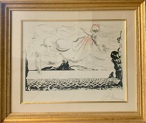 SALVADOR DALI Signed and Numbered lithograph 4 250 $2500.00