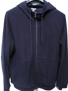 $165 Vince Men's Sport Jacket With Hood Navy Size XL NWT