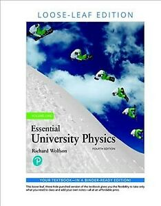 Essential University Physics, Hardcover by Wolfson, Richard, Brand New, Free ...