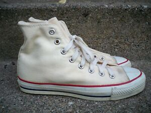 Vintage Converse All Star Chuck Taylor Made In USA Mens High Top Sneakers Size 7