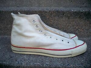 Vintage Converse All Star Chuck Taylor Made In USA Men's High Top Sneakers 13.5