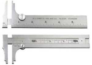 STARRETT 1025-6 Pocket Slide Caliper6 In