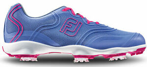 FootJoy Aspire Golf Shoes Womens Ladies 98896 - Periwinkle Blue - Pick Size!