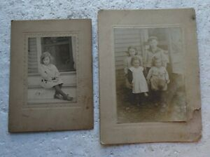 Two Antique Photographs of Children $25.00